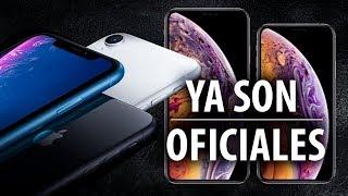 Los iPhone XR, XS y XS Max ya son oficiales