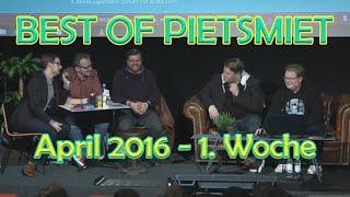 BEST OF PIETSMIET [FullHD] - April 2016 - 1. Woche