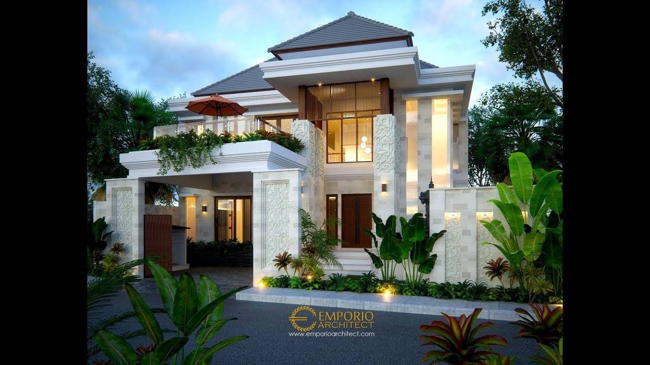 Video 3D Mr. Rivan Villa Bali House 2 Floors Design - Nusa Dua, Bali
