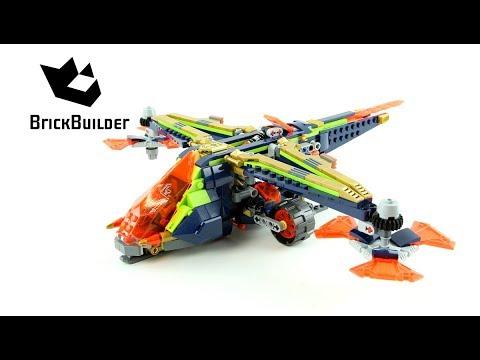 Vidéo LEGO Nexo Knights 72005 : L'avion-arbalète d'Aaron
