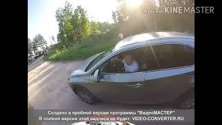 Мотоциклисты наказывают быдло