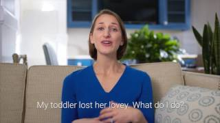 My toddler lost her lovey. What do I do? - Dr. Sonia Rubens