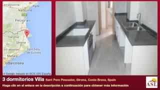 preview picture of video '3 dormitorios Villa se Vende en Sant Pere Pescador, Girona, Costa Brava, Spain'