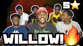 WILLOW - t r a n s p a r e n t s o u l ft. Travis Barker (Official Music Video) *REACTION*