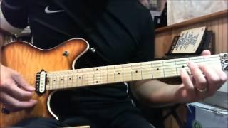 Judas Priest - Fever - guitar lesson (Revised)