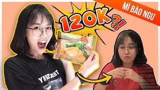 Mỳ gói mắc nhất. 120k/gói Misthy ăn thử và cái kết || WHAT THE FOOD