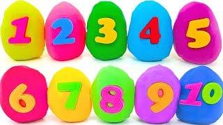 Учим цифры от 1 до 10. Сюрпризы игрушки СВИНКА ПЕППА, ТРИ КОТА, ГЕРОИ В МАСКАХ, ЩЕНЯЧИЙ ПАТРУЛЬ