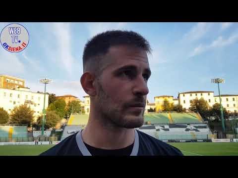 Interviste Robur Siena-Montevarchi 4-0 - amichevole 2018/2019