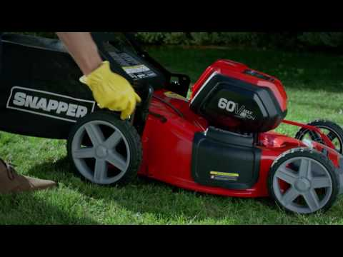 2018 Snapper 60-Volt Max Lithium-Ion Cordless Walk Mower (SP60V) in Eastland, Texas