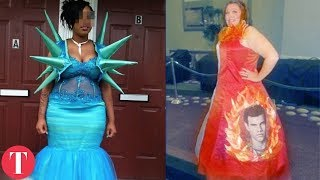 10 Really Bad Prom Dresses
