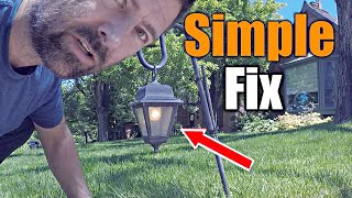 Simple Trick To Fix Your Landscape Lights | THE HANDYMAN |
