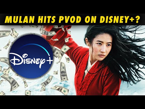 WTF? MULAN will cost $30 to rent on Disney+ Premiere Access!