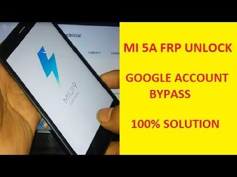 Redmi 5A Remove Google Account | Redmi 5A Remove Mi Account