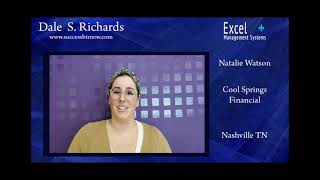 Natalie Watson, Cool Spring Financial Nashville TN,  loved Dale Richards' content and delivery