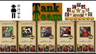 Clash of Lords 2 - Monsterous Tank Team Destructive PWNAGE OWN THY ENEMY