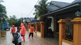 Hujan Deras dari Sore hingga Dini Hari, Sebagian Wilayah di Kota Rantau Terendam