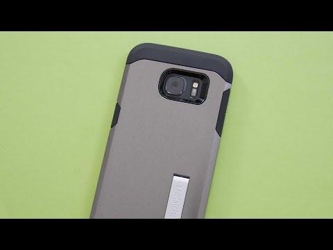Galaxy S7 Edge: Spigen Tough Armor Hülle im Unboxing & Kurztest