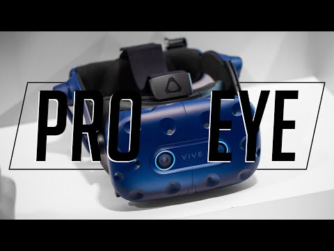 HTC Vive Pro Eye and Vive Cosmos hands-on!