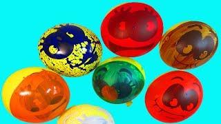 Воздушные Шары Учим цвета с шариками Учимся рисовать гуашью на шариках Развивающая Песня Про шарики
