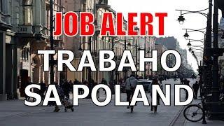 Job alert: Libo-libong manggagawa, kailangan sa Poland