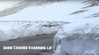 Khardung La - Carpet of Snow