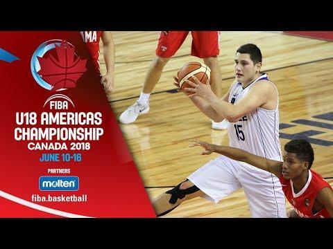 Chile v Panama – Class. 5-8 – Re-Live (ENG) – FIBA U18 Americas Championship 2018