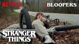 Stranger Things Season 2 Bloopers | Netflix