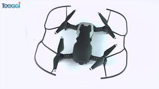 Drone teeggi m69 com câmera ultra hd 4k
