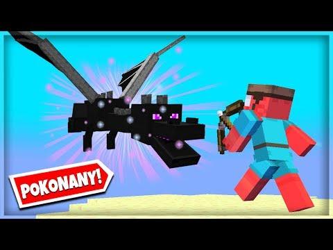 WALCZĘ ZE SMOKIEM ENDU w Minecraft Skyblock #7