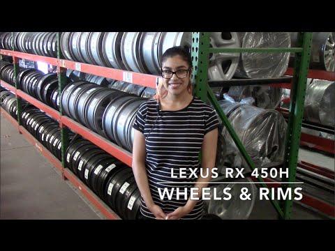 Factory Original Lexus RX 450H Wheels & Lexus RX 450H Rims – OriginalWheels.com