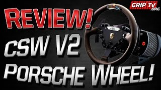 Fanatec CSW V2 Base And Porsche Wheel Full Review!