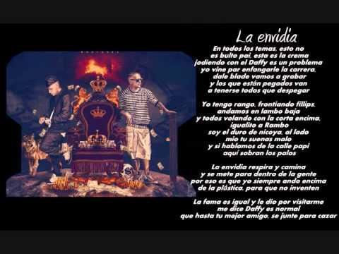 Kendo Kaponi Ft. Daffy El Audio -- La Envidia (LETRA) (Lyrics)
