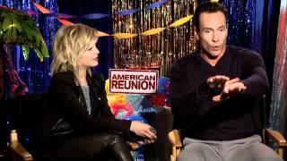 "Interview Mena Suvari pour ""American Reunion"""