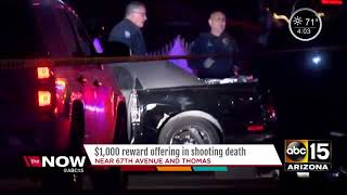 Reward being offered for info in Phoenix shooting