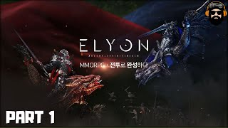 Геймплей MMORPG Elyon со стресс-теста