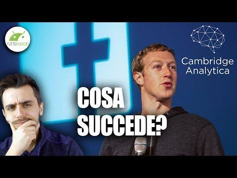 FACEBOOK: I NOSTRI DATI SONO A RISCHIO? Ecco COSA STA SUCCEDENDO! | Cambridge Analytica | ITA