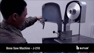 Butler Bone Saw Machine – J-210