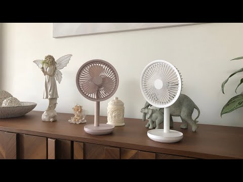 Xiaomi SOLOVE 5W USB Desktop Table Fan [4000mAh] Unboxing & Review