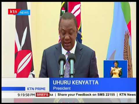Devolution conference at Kakamega addressed by President Uhuru Kenyatta