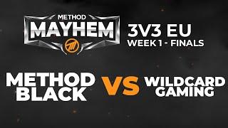 REVERSE SWEEP RIP METHOD! Method Black VS Wildcard Gaming - [3v3] Method Mayhem Week 1 - EU