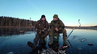 Рыбалка по ПЕРВОМУ льду. 2018. Отвели душу по окуню. Открытие сезона.