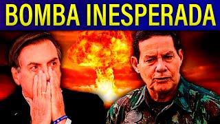 Mourão culpa Bolsonaro por fake-news no TSE!! Cassação de Fransischini cria jurisprudência!!