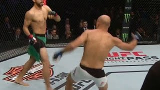 YAIR RODRIGUEZ VS BJ PENN FULL FIGHT HIGHLIGHTS RODRIGUEZ TKO KNOCKS OUT PENN MY THOUGHTS REVIEW
