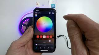 Bester WIFI LED Streifen / LED Controller in OPENHAB 2 einbinden / Magic Home RGBW LED Controller