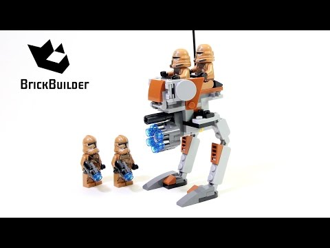 Vidéo LEGO Star Wars 75089 : Soldats Geonosis