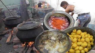 250 Kg Mutton Dum Kolkata Style Biryani For 800 People | Full Preparation | Street Food Loves You