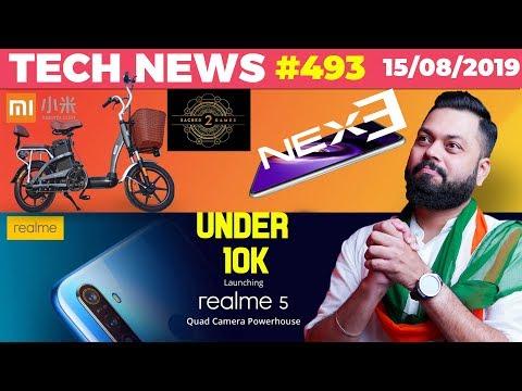Woah! Realme 5 Under 10k, Xiaomi's Electric Moped, Crazy Vivo NEX 3 Photos, Sacred Games 2-TTN#493