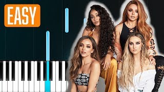 Little Mix - Told You So 100% EASY PIANO TUTORIAL
