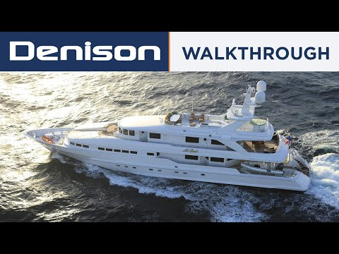 Heesen Tri Deck Motor Yacht video
