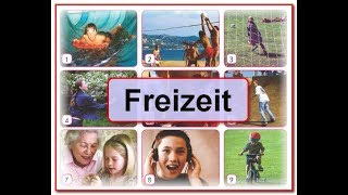 5 предложений о рыбалки хобби на немецком